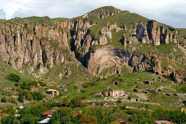 Goris town, Armenia