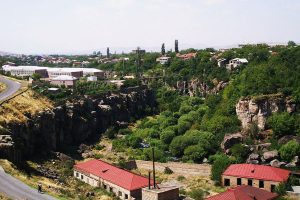 Ashtarak city, Armenia