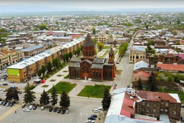 Gyumri city, Armenia