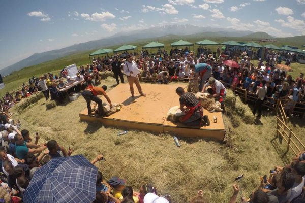 Festival of Sheep Shearing in Tatev
